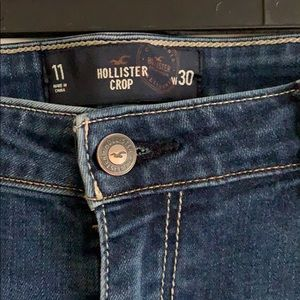 Hollister Jeans - Hollister Cropped Jeans